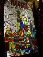 Glass art in Moscow Metro