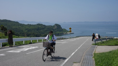 After lunch in Teshima