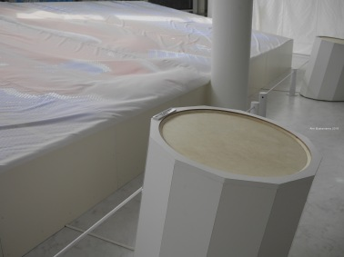 Drum installation at Art No Show in Shodoshima