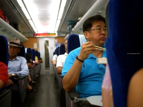 Onboard the Taroko Express - Ahn Bustamante