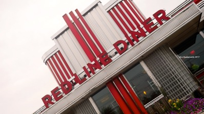 Red Line Diner, love the exteriors. It's definitely a classic