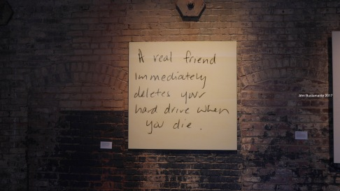 Tanja Hollander - Are You really my Friend - Mass MoCA - Ahn Bustamante