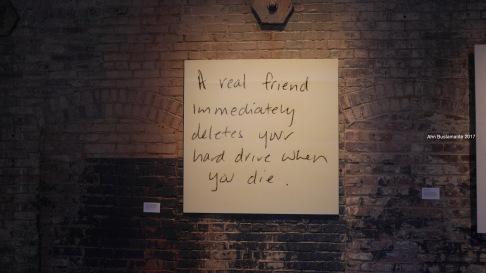 Tanja Hollander - Are You really my Friend - Mass MoCA - Ahn Bustamante
