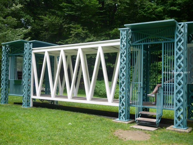 Gazebo for Two Anarchists by Siah Armajani - Storm King Arts Center - Ahn Bustamante
