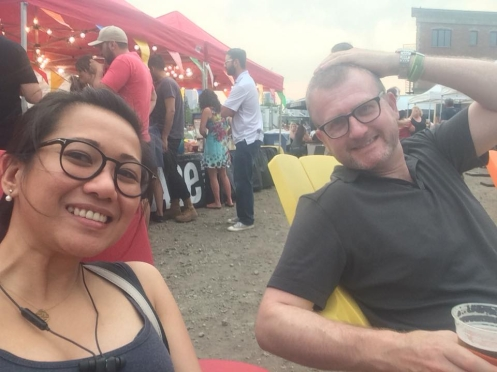 Inglewood Night Market with Husband