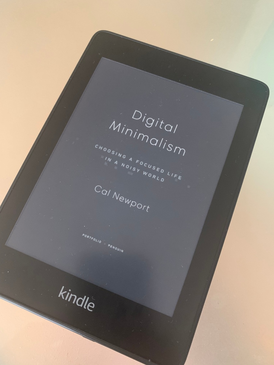 10 things I learned from Cal Newport's book Digital Minimalism